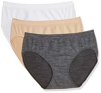 ea30d0715e5e Layla's Celebrity Women's Seamless Hi-Cut Panties Nylon Spandex Underwear