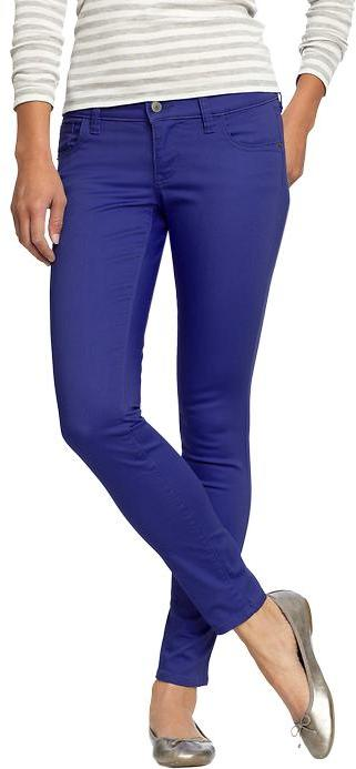 Old Navy Women's The Rockstar Pop-Color Jeans