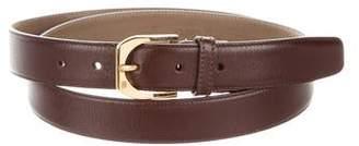 Bruno Magli Leather Waist Belt