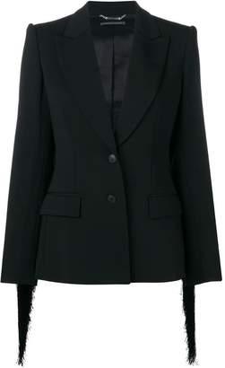 Alberta Ferretti plain fitted blazer