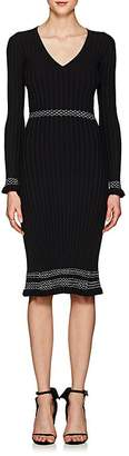 Altuzarra Women's Isolde Contrast-Stitched Rib-Knit Dress