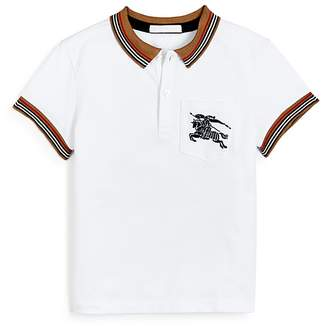 Burberry Boys' Noel Polo Shirt - Little Kid, Big Kid