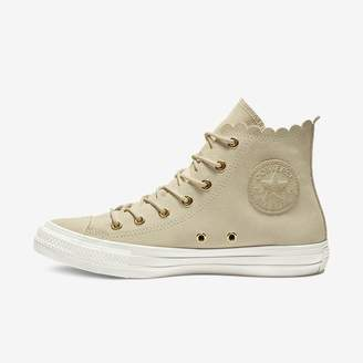 Converse Womens Shoe Chuck Taylor All Star Frilly Thrills High Top d8d8f09157a8