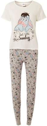 33d42e5091 at Dorothy Perkins · Dorothy Perkins Womens Grey Disney Eeyore Pyjamas