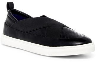 Adrienne Vittadini Stanna Slip-On Sneaker $79 thestylecure.com