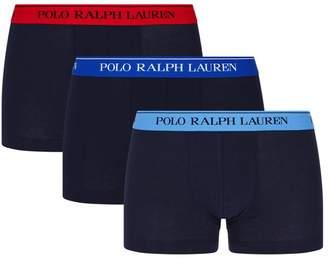 Polo Ralph Lauren Classic Logo Trunks (3-Pack)