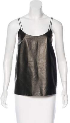 Vince Leather Camisole Top