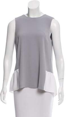 Strenesse Colorblock Crepe Top