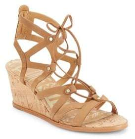 Dolce Vita Open-Toe Ankle-Tie Cage Sandals