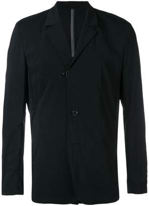 Attachment single-breasted blazer