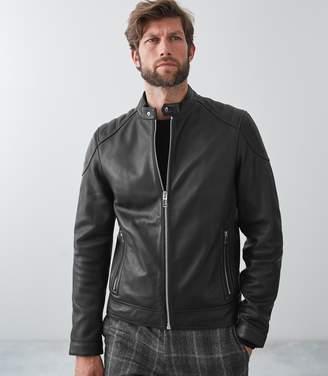 Reiss Bream Leather Jacket