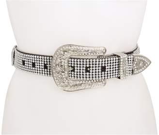 M&F Western Crystal Cross Rhinestone Women's Belts