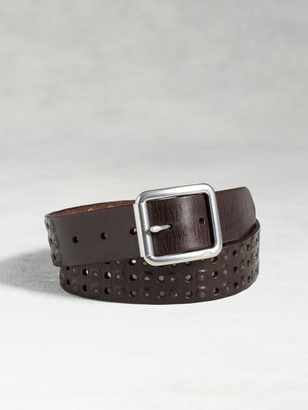 Leather Studded Belt $138 thestylecure.com