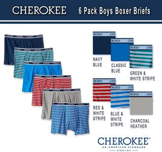 Cherokee Little Boys' 6 Pack Boxer Brief