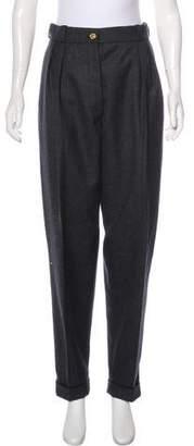Chanel High-Rise Leggings Pants