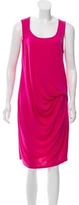 Michael Kors Sleeveless Midi Dress Fuchsia Sleeveless Midi Dress