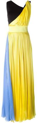 Fausto Puglisi block colour gown