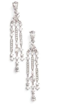 Women's Nadri Ava Crystal Chandelier Earrings $110 thestylecure.com