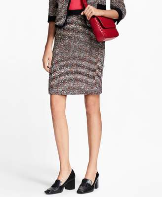 Brooks Brothers Boucle Pencil Skirt