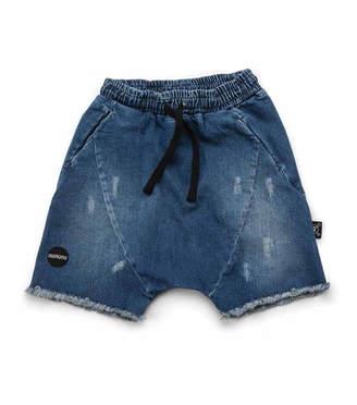 Nununu Denim Rounded Shorts