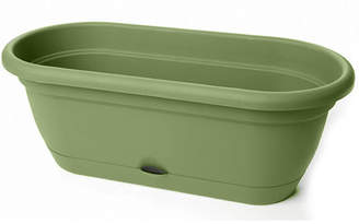 Bloem Lucca Self-Watering Plastic Window Box Planter