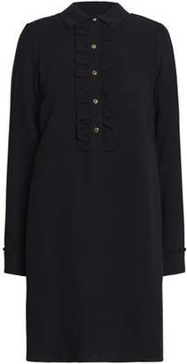 MICHAEL Michael Kors Silk-Crepe Mini Shirt Dress