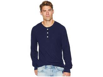 7 For All Mankind Long Sleeve Army Henley