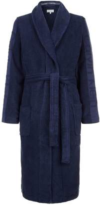 Calvin Klein Terry Cotton Robe with Arm Logos
