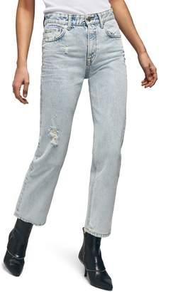 Anine Bing Etta Straight Leg Jeans