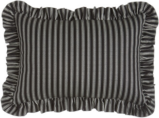 "Sherry Kline Home French Toile"" Striped Pillow, 13"" x 18"