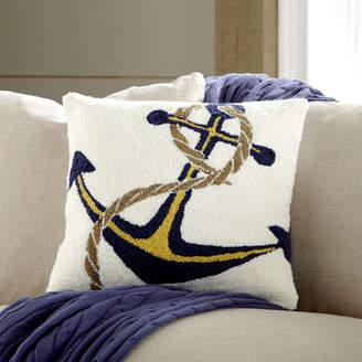 Birch Lane Hooked Anchor Pillow