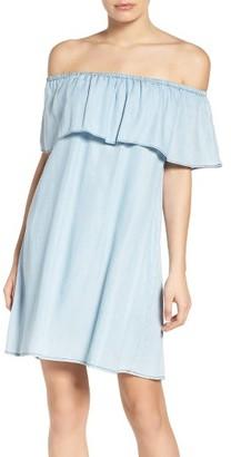 Women's Bb Dakota Maci Off The Shoulder Dress $98 thestylecure.com