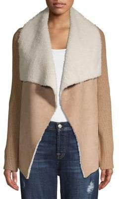 Context Sherpa Open-Front Cardigan