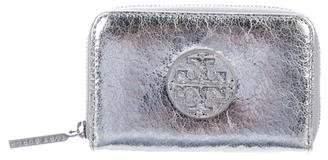 Tory Burch Metallic Compact Wallet