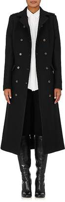 Barneys New York Women's Military Wool-Blend Coat