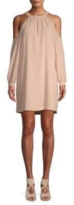 BCBGMAXAZRIA Halter Mini Dress
