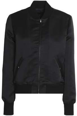 Vanessa Seward Crystal-Embellished Satin Bomber Jacket
