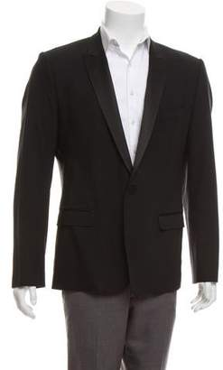 Dolce & Gabbana Virgin Wool Satin-Trimmed Tuxedo Jacket