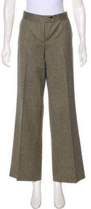Etro High-Rise Wide-Leg Pants