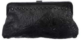 Thomas Wylde Leather Studded Clutch