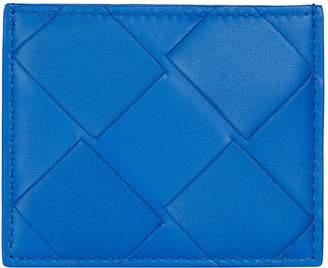 Bottega Veneta Leather Intrecciato Card Holder