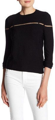360 Cashmere Ananya Pullover $242 thestylecure.com