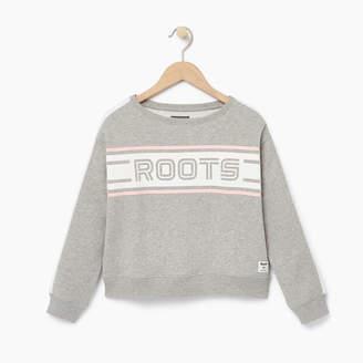 Roots Girls Sportsmas Crew Sweatshirt