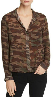 Bella Dahl Camouflage Shirt