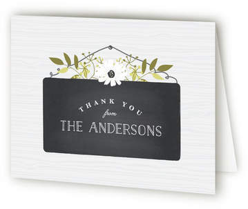 New Home Signage Housewarming Party Thank You Cards