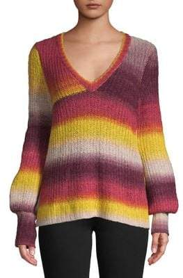 Kensie Ombre Striped Sweater