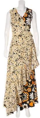 Celine 2015 Daisy Print Jumpsuit