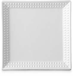 Perlee White 8 Square Tray