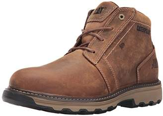 b665dc6b080 Caterpillar CAT Parker S1P SRC Mens Brown Steel Toe Cap Safety Boots Work  Boot