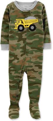 Carter's Baby Boys Cotton Footed Pajamas